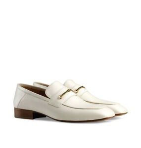 NIB Gucci Horsebit & Double G Leather Loafers 9.5EU/10.5US $890.00 *2021 Style*