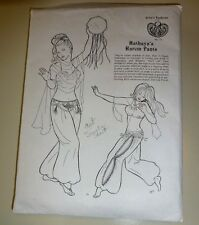 Atira's Fashions # 15 Hathaya's Harem Pants 1987 Costume Traditional  Bellydance