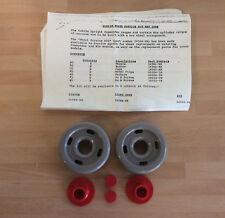 Vintage Duende Aspiradora Kit de rueda, gris y rojo, comandante & Rio 14564686