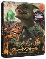 The Great Wall 4K UHD Steelbook Japanese Artwork UK HMV Exclusive Presale