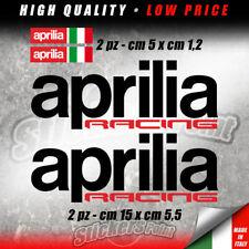 KIT 4 Adesivi APRILIA RACING tricolore sticker moto RSV4 RS TUONO RSV - KAP002