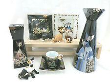 Goebel Cat Rosina Wachtmeister Lights Vase Espresso Cup