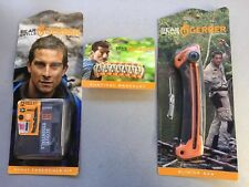 Lot of  3 Gerber Bear Grylls Survival Scout Kit Bracelet And Saw