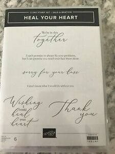 Stampin' Up! Heal Your Heart Stamp Set (Retired)