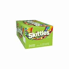 Sour Skittles Candy 24 Count Packs 1.8 oz Full Size Bags Bite Size Candies