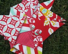 Handmade bunting - reds from Moxi by Studio M nursery, party, decor