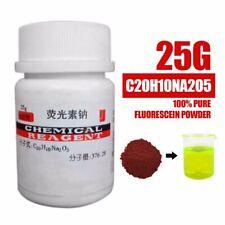 25g 100% de formule moléculaire pure de poudre de fluorescéine C20H10NA2O5 outil