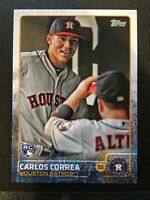 2015 Topps Update Carlos Correa RC SP Image Variation #US174