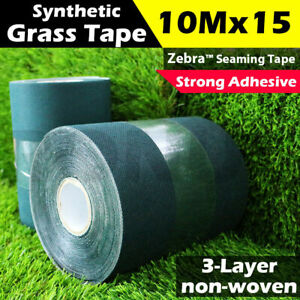10m x 15cm Synthetic Grass Joining Tape Self Adhesive Glue Peel Artificial Turf