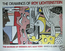 LICHTENSTEIN ROY - TIRAGE  ORIGINAL POUR LE MUSEE D'ART MODERNE DE NEW YORK 1987