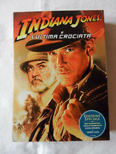 INDIANA JONES E L'Ultima Crociata Film DVD