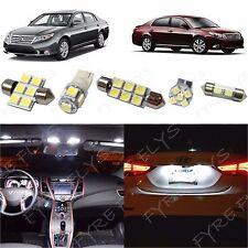 12x White LED lights interior package kit for 2005-2012 Toyota Avalon TA1W
