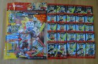 Lego Ninjago™ Serie 5 Trading Card Game 25 Booster + Starterpack Sammelmappe