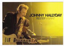 JOHNNY HALLYDAY    CARTE POSTALE  n°  ATHQ 273    RESTER VIVANT