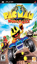 Pac-Man World Rally Brand New Factory Sealed Sony Platstation PSP Game