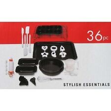 Gibson Cuisine Select Stylish Essentials 36 piece Bakeware Combo Set NEW