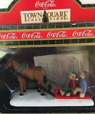 Coca Cola Town Square Sleigh Ride In Box Cg2440