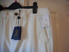 BNWT Polo Ralph Lauren Highland Crema Walker Cargo Pantalones/Jeans-UK 32/USA10