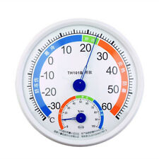 Big Round Dial Analog Portable Temperature Humidity Meter Thermometer Hygrometer