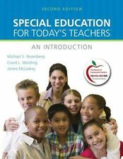 Special Education for Today's Teachers: An Introduction (2nd Edition) by Rosenb