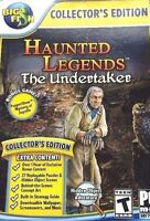 Haunted Legends The Undertaker C.E. PC Games Window 10 8 7 XP Computer seek find