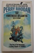 #52 Perry Rhodan FORTRESS ATLANTIS science fiction paperback ACE 66035