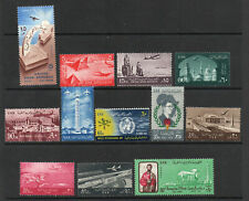 Egypt - Group of (12) Airmail MH/MLH    -     Lot 0620126