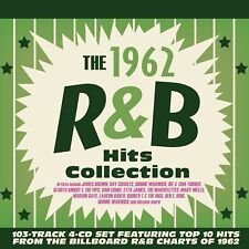 THE 1962 R&B HITS COLLECTION  4 CD NEUF