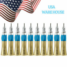 10X Nsk Style Dental Slow Low Speed Straight Handpiece Nose Cone In Usa Ep Top