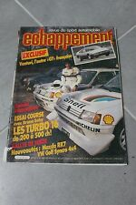 ECHAPPEMENT SPORT AUTO 209 MARS 86 SABY MAZDA RX7 VW GOLF SYNCRO 4X4 VENTURI