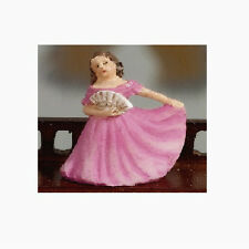 Dolls House Miniature: Lady Ornament   in 12th scale  (height 2.2cm)