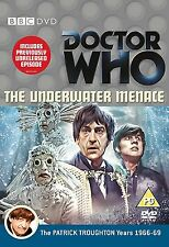 Doctor Who: The Underwater Menace DVD NEW/SEALED - Patrick Troughton is Dr Who