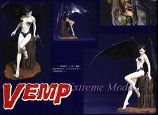 1/7 Vampire Sway Wings on Stump ( Base Include) Unpainted Resin Model Kit