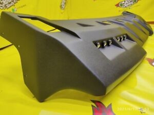 Visor on the roof for Hummer H2 with DRL lights