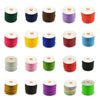 0.8mm Fine Nylon Cord Thread Line Chinese Knot Macrame Braided String Craft 45M
