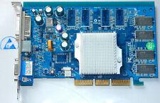 NVIDIA Geforce FX5200 128MB DDR A-FX20-C128D Graphic Card Grafikkarte 8x AGP VGA