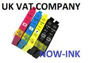 5x Non OEM 29XL INK CARTRIDGES FOR EPSON XP245 XP247 XP242 XP257 XP352 XP355
