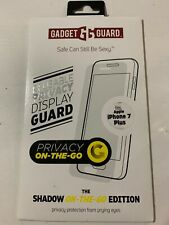Gadget Guard Shadow On The Go Reusable Privacy Sceeen Guard, iPhone 7+