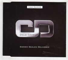 (GW456) Craig David, Signed Sealed Delivered - DJ CD