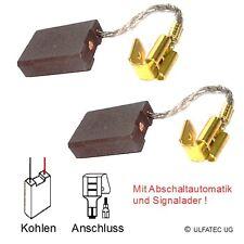 Kohlebürsten HILTI DD 160, DD 200 mit Abschaltautomatik - 6,3x16x22mm (2225)