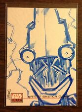 Topps Star Wars Galaxy 4 sketch card 1/1 Jason Phillips