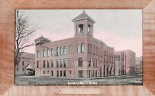 1909 City Hall (Picture Frame Border), Fargo, North Dakota Postcard