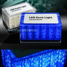 48 LED BLUE CAR EMERGENCY HAZARD WARNING ROOF TOP FLASH STROBE LIGHT UNIVERSAL 6