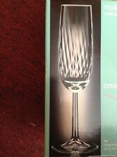 4 Royal Leerdam Holland Crescendo champagne flutes glasses