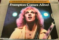 MFSL - Peter Frampton - FRAMPTON COMES ALIVE - rare 24k Gold UDCD 2-678 - EXC.!