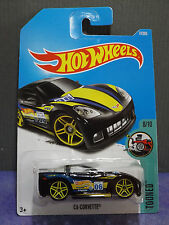 "Hot Wheels New 2017 ""TOONED"" C6 CORVETTE, Tooned series 8/10. New D Case"