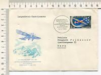 s631) SWITZERLAND 1963 Cover 50th Ann. 1st Flight Langenbruch-Bern-Locarno