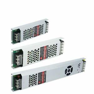 DC12V/24V Ultra Thin LED Power Supply Lighting Transformers Adapter Switch