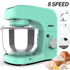 BN Electric Food Stand Mixer 8 Speeds 4.7QT Tilt-Head Stainless Steel Bowl Green