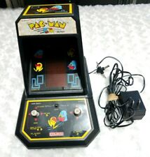 Vintage Coleco 1981 Pac Man mini table top video arcade machine - WORKS GREAT!